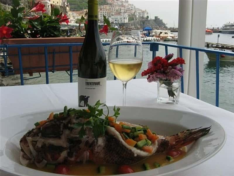 Restaurant lido azzurro amalfi restaurants in amalfi for Amalfi coast cuisine