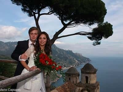Matrimonio a Ravello in Costa di Amalfi