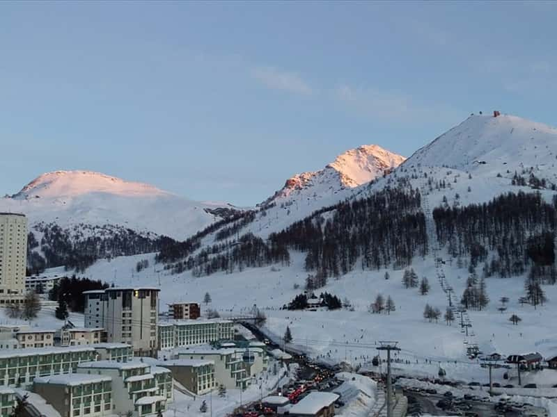 Sestriere, Sunset