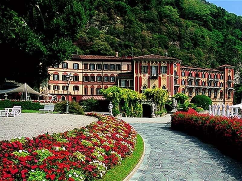Hotel villa d 39 este lake como hotels accommodation in for Vajilla villa d este